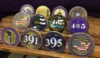 NUCPS Challenge Coins customized for SPSC