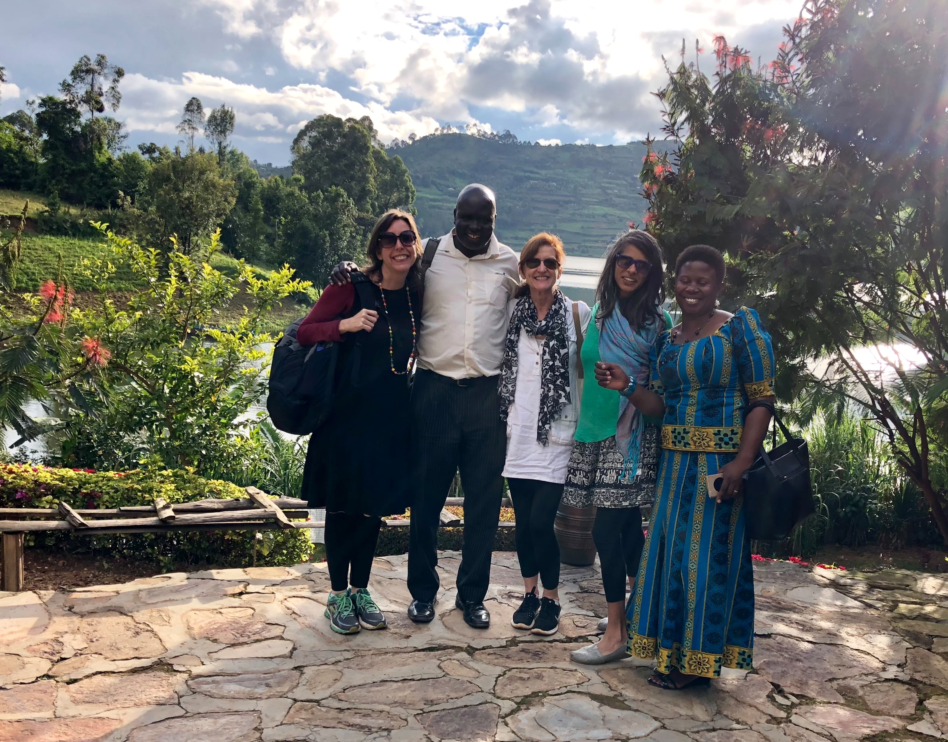 msgh faculty at lake bunyonyi