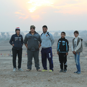 Young Iraqi Men