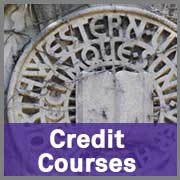 Courses for Credit